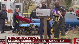 2nd Arrest Made In North Nashville Double Homicide - Video