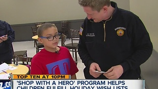 Shop with a hero program - Video