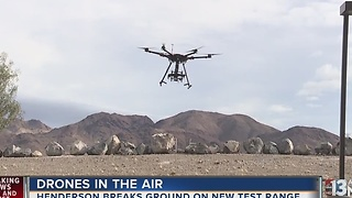 Henderson breaks ground on drone testing site