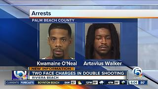 2 arrested in connection with Riviera Beach double shooting - Video