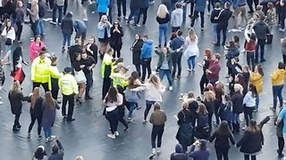 Police Officers Let Loose During #OneLoveManchester Benefit Concert - Video