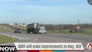KDOT to make improvements to 169 Highway - Video