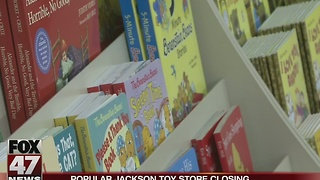 Popular Jackson toy store closing - Video