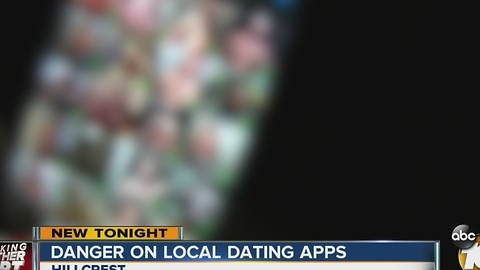 Danger on local dating apps