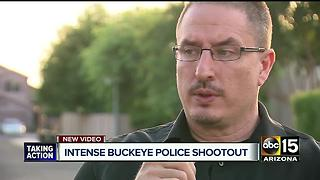 Buckeye PD releases body camera footage of officer-involved shooting - Video