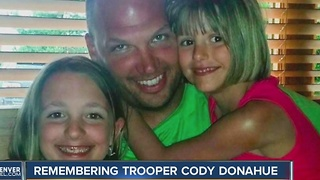 Honoring CSP troper Cody Donahue - Video