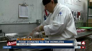 The Capital Grille donates unused food to hungry families in Collier County - Video