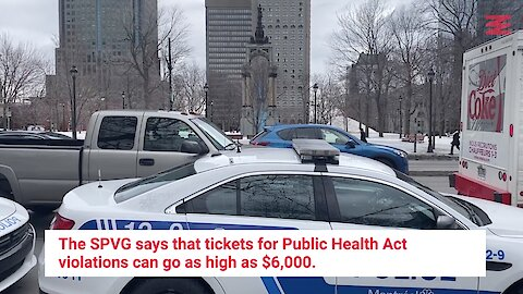 Police In Quebec Gave Someone A $1,000 Ticket For Violating Social Distancing Rules
