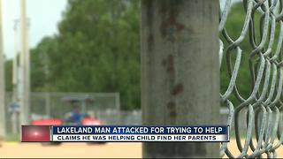 Lakeland father beats up 'good Samaritan' - Video