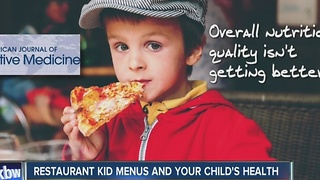 PARENTS: How healthy is the kids' menu