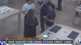 Mall at Wellington Green Apple store out $3K, two sought - Video