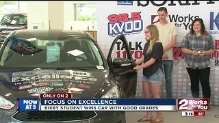 Good grades pays off for one Green Country student - Video