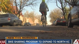 Bike sharing program to expand to North Kansas City - Video