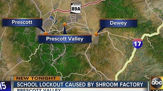Students on lockout after Prescott Valley police situation - Video
