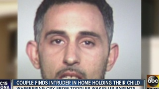 Man found holding baby in Tempe house - Video