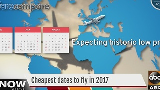 Here's the cheapest days to take flights throughout the year - Video