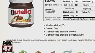 Key Nutella ingredient linked to cancer - Video