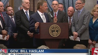 Governor Haslam Proposes Gas Tax Increase - Video
