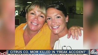 Single mom of four dies in what deputies call 'freak accident' - Video