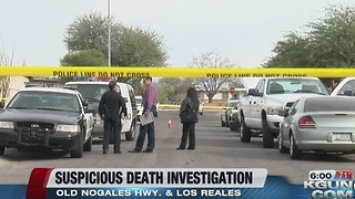 Police investigating a suspicious death on the south side - Video