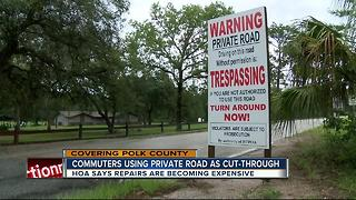 I-4 congestion causing headache for private roads - Video