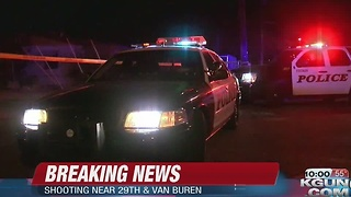 One man shot on east side, suspect on the loose