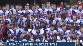 Roncalli wins 4A state title - Video