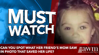 Can You Spot What Her Friend's Mom Saw In Photo That Saved her life? - Video