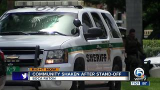 Broward County deputy surrenders after standoff with PBSO - Video