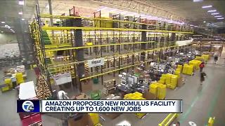 Amazon in Romulus - Video