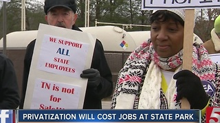 Fall Creek Falls Inn Looks To Privatize Costing State Employees Their Jobs - Video