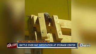 Las Vegas storage facility owner admits to rats in units - Video