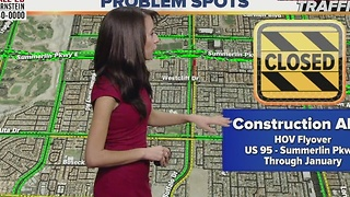 More lane closures, restrictions on Summerlin Parkway - Video