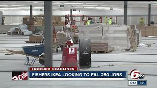IKEA hiring 250 people for Fishers store - Video