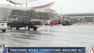 Tracking road conditions around KC - Video