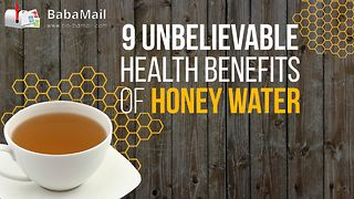 9 unbelievable health benefits of honey water - Video