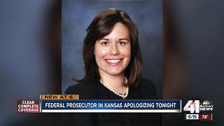 Federal prosecutor in Kansas ousted - Video