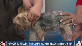 Grooming project empowers women, teaches new career - Video