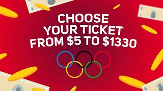 Rio 2016: Choose your ticket from $5 to $1330 - Video