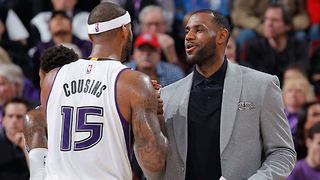 Cavs ALREADY Targeting DeMarcus Cousins to Help Beat the Warriors Next Year - Video