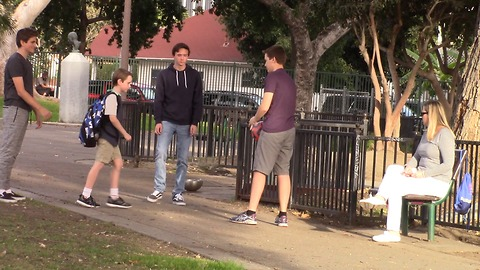Social Experiment Has People Stepping Up In Defense Of Bullied Boy
