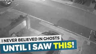 I Never Thought Ghosts Were Possible Until I Saw This Footage - Video