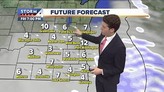 Another cold blast targets SE Wisconsin - Video