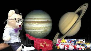 Learn about Saturn with Chumsky Bear | Solar System | Outer Space | Educational Videos for Kids
