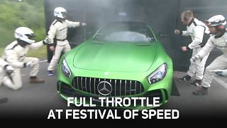 Full Throttle at the Festival of Speed - Video
