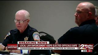 Local law enforcement keeps elected officials safe - Video