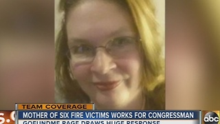 Mother of 6 killed in house fire works for U.S. Rep. Elijah Cummings - Video