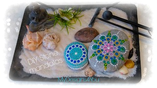 DIY Stone Mandalas Using Nail Polish - Video