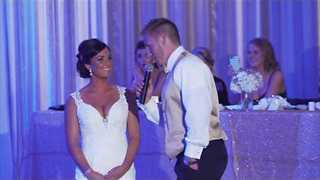 Bride Gets A Special Surprise From Her Groom On Their Wedding - Video