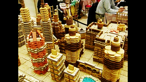 City Made Of Cookies